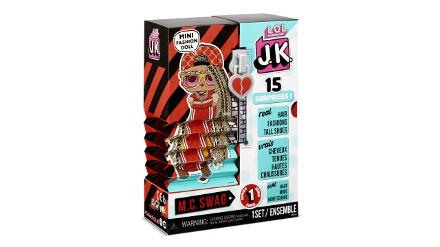 L.O.L. Surprise OMG J.K. Doll- M.C. Swag