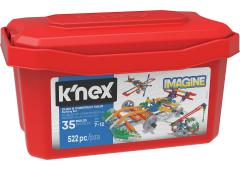 K'NEX Click en Construct Value Bilding Set Red Tub