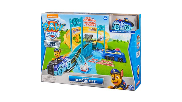 Paw Patrol True Metal Chase Police rescue set