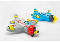 Intex Airplane with water gun ride-on 132x130cm
