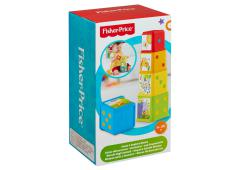 Fisher Price  Stapel en Leer Blokken