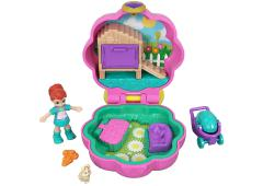 Polly Pocket Tiny Pocket Places - Lila's Konijnenhuisje