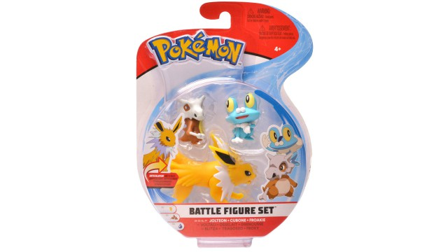 Pokemon Battle Figure 3-Pack assorti