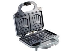 Tefal Tosti-apparaat - Ultracompact zilvergrijs