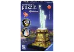 Puzzel 3D Statue of Liberty Night