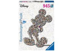 Puzzel 1000 stukjes WD: Shaped birthday Mickey