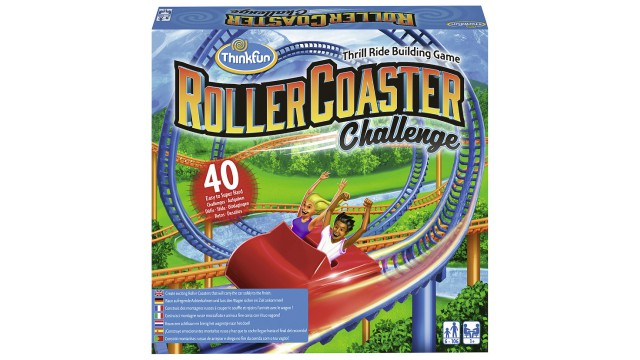 ThinkFun® Games Roller Coaster Challenge
