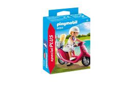 Playmobil Special Plus Zomers meisje met scooter