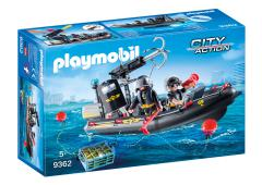 Playmobil City Action SIE-rubberboot