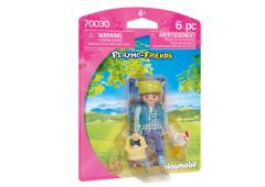 Playmobil Playmo-friends Boerin met kip