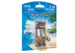 Playmobil Playmo-friends Piraat met kompas