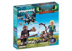 Playmobil Dragons Hikkie en Astrid speelset