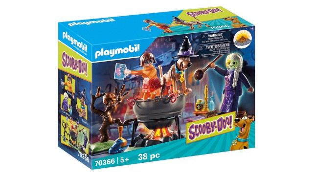 Playmobil SCOOBY-DOO In de Heksenketel
