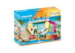 Playmobil Family Fun Bungalow met zwembad