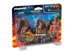 Playmobil Knights Novelmore Set van 3 Burnham Raiders