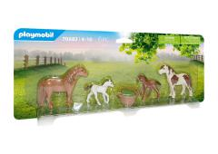 Playmobil Country Ponys met veulens