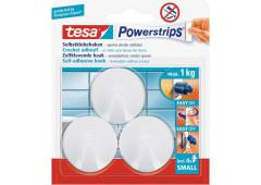 Tesa Powerstrips Small Rond wit