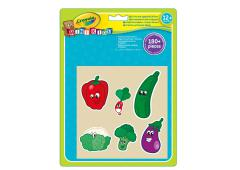 Crayola Mini Kids - Jumbo Stickers Fruit en Groente