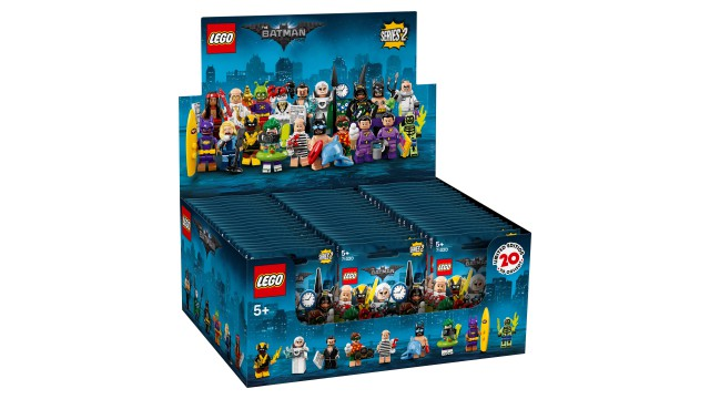 LEGO Minifiguren Batman Serie 2 display 60 stuks