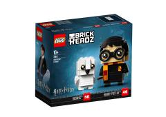 LEGO Brick Headz Harry Potter en Hedwig