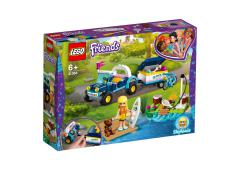 LEGO Friends Stephanie's buggy en aanhanger