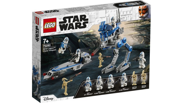 LEGO Star Wars 501st Legion Clone Troopers