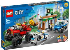 LEGO City Politie Politiemonstertruck overval