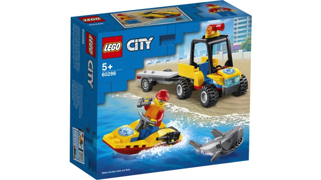 LEGO City Voertuigen ATV strandredding