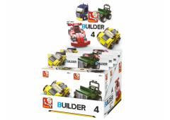 Sluban Builder 4 Vehicles 8 stuks