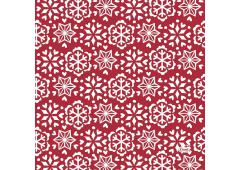 Duni servetten Scandi Red 33x33cm