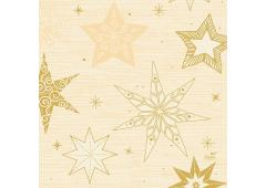 Duni servettenStar Stories Cream 33x33cm