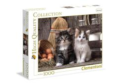 Clementoni Puzzel High Quality 1000 stukjes Lovely Kittens