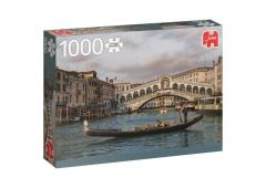 Puzzel 1000 st. PC Rialto Bridge Venetie