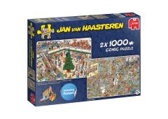 Puzzel 2x1000 st. JvH Holiday Shopping