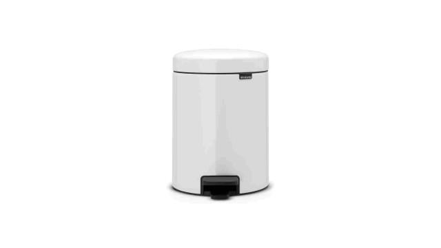 Brabantia Pedalette 3 Liter.Brabantia Pedalette 5 Liter White Cilgro B V