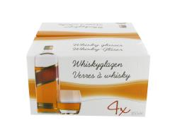 Whiskeyglas 4 delig 225ml