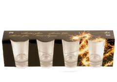 Shooter glas 4 delig 5cl