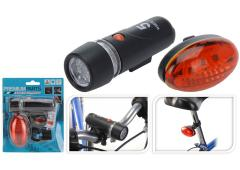 Fietsverlichting set 5 led