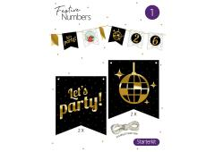 Festive numbers Starter kit Let's Party