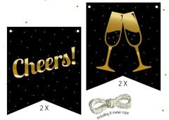 Festive numbers Starter kit Cheers