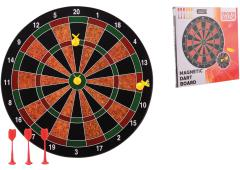 Sports Active magnetisch dartbord met 6 darts