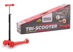 Sports Active Tri-scooter rood/zwart
