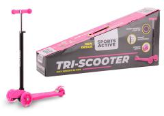 Sports Active Tri-scooter roze/zwart