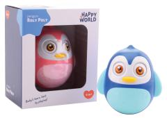 Happy World Roly Poly pinguin 2 assorti