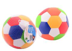 Happy World zachte bal multi color 15 cm