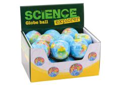 Science Explorer Globe ball soft in display dia 75mm