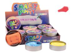 Smart Putty Color Changing (UV) 5 assorti in display