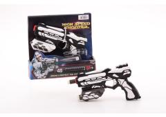 Space and Protect Shooter Starter 18cm met 6 pijlen