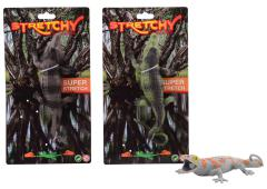 Animal World hagedis / krokodil stretch 2 assorti