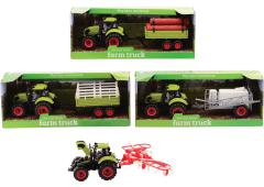 Farm Master tractor speelset medium 4 assorti